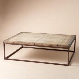 Brickmakers Coffee Table Traditional Coffee Tables By