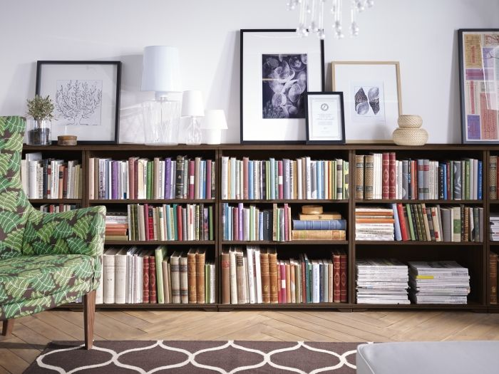 BILLY Boekenkast, berkenfineer | Interiors, Library room and Ikea billy