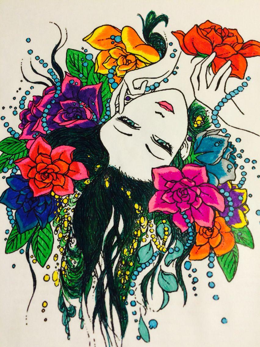 Раскраска | Раскраски, Узоры, Мандала