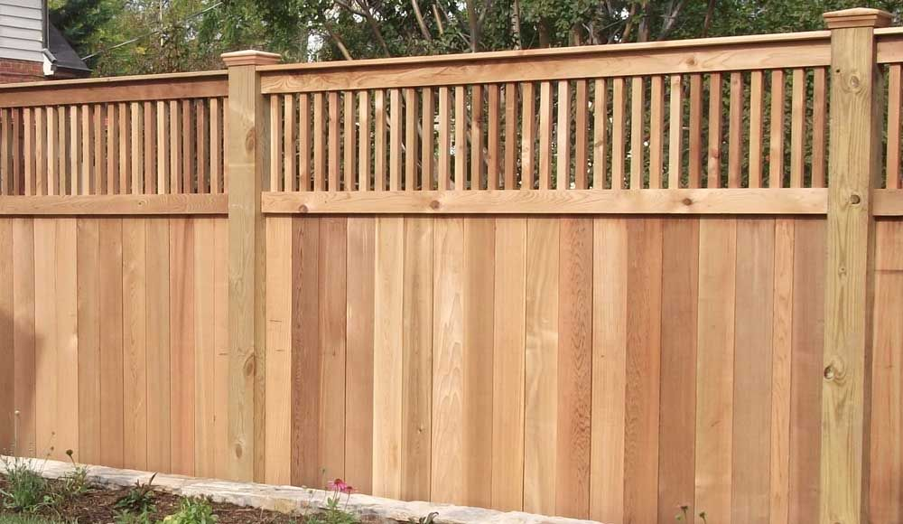 Cost To Install A Fence 2020 Average Prices Inch Calculator Backyard Fences Wood Fence Design Wood Privacy Fence