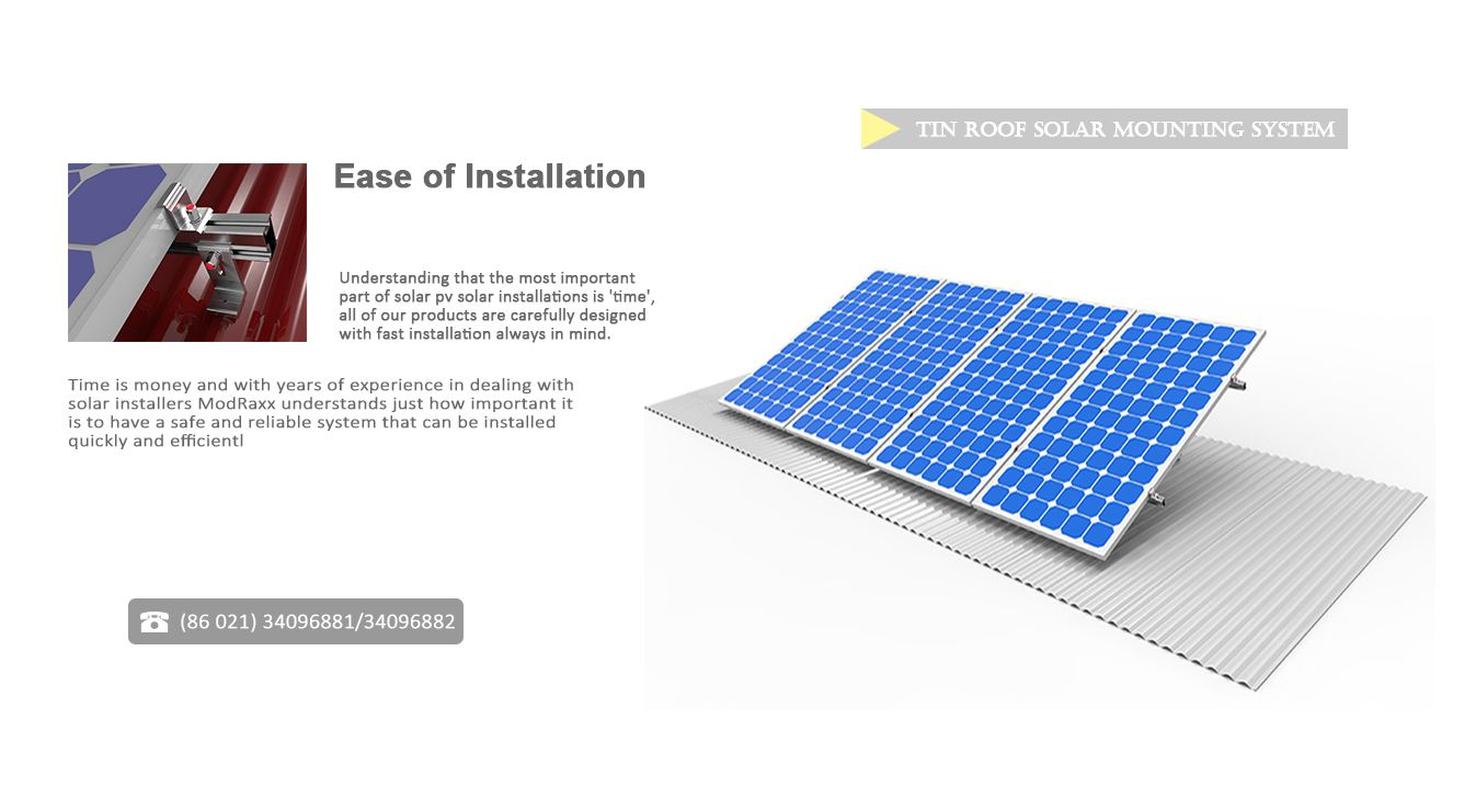 Modraxx Is A Professional Solar Engineering Company Specializing In The Best Quality Solar Mounting Structures Money Can Buy Solar Installation Roof Solar Panel