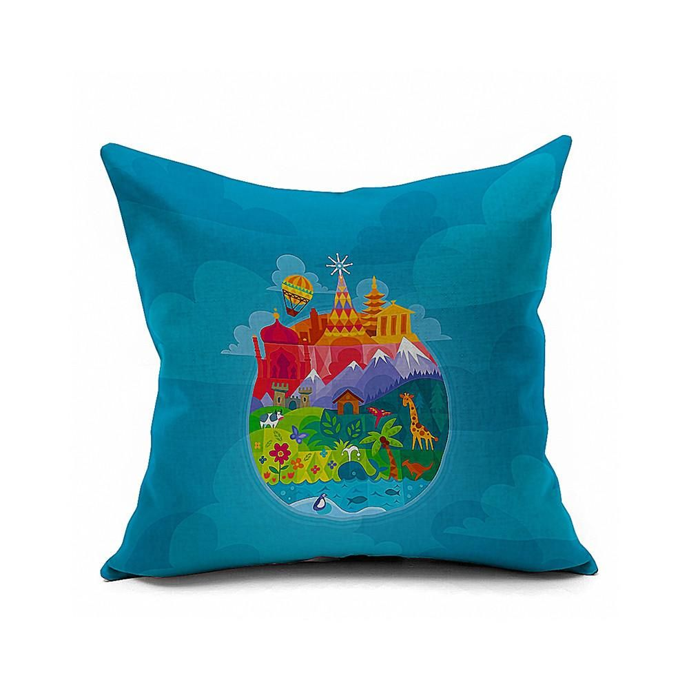 Film and Television Plays Pillow Cushion Cover  YS183 - 8PS