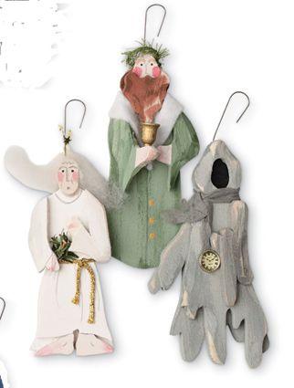 A Christmas Carol ornaments - A Christmas Carol Ornaments Arts And Crafts - Christmas