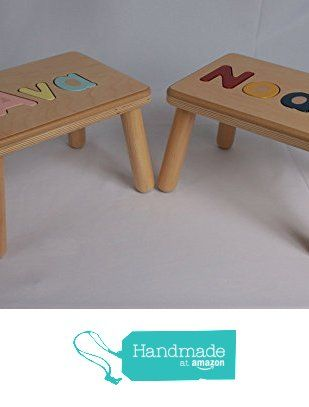 Admirable Name Puzzle Stool Personalized With Your Childs Name Ocoug Best Dining Table And Chair Ideas Images Ocougorg