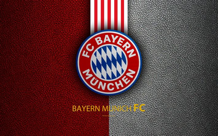 Herunterladen Hintergrundbild Fc Bayern Munchen Fc 4k