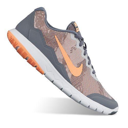 Nike Flex Experience Run 4 Lightweight Kids Running Shoes Black/White SF