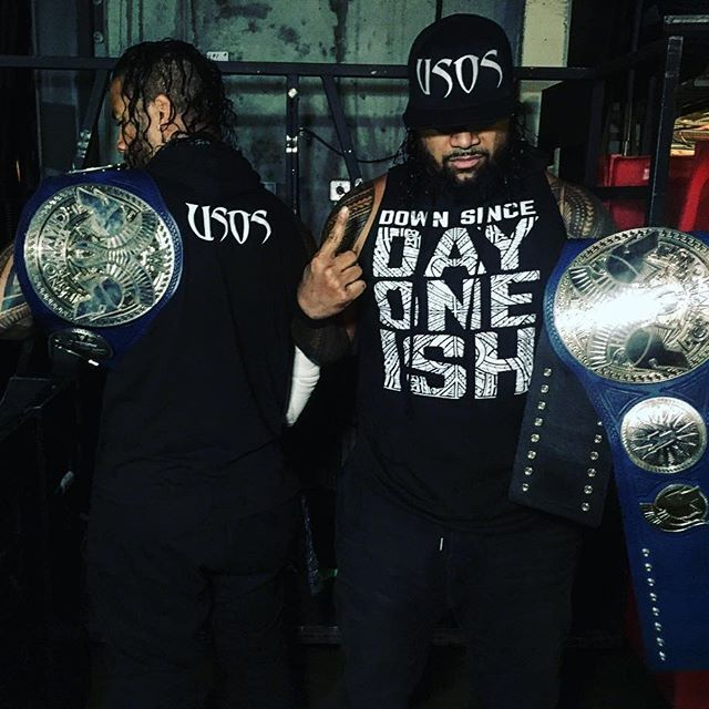 "The Usos /""Since Day One Ish/"" Baseball Jersey"