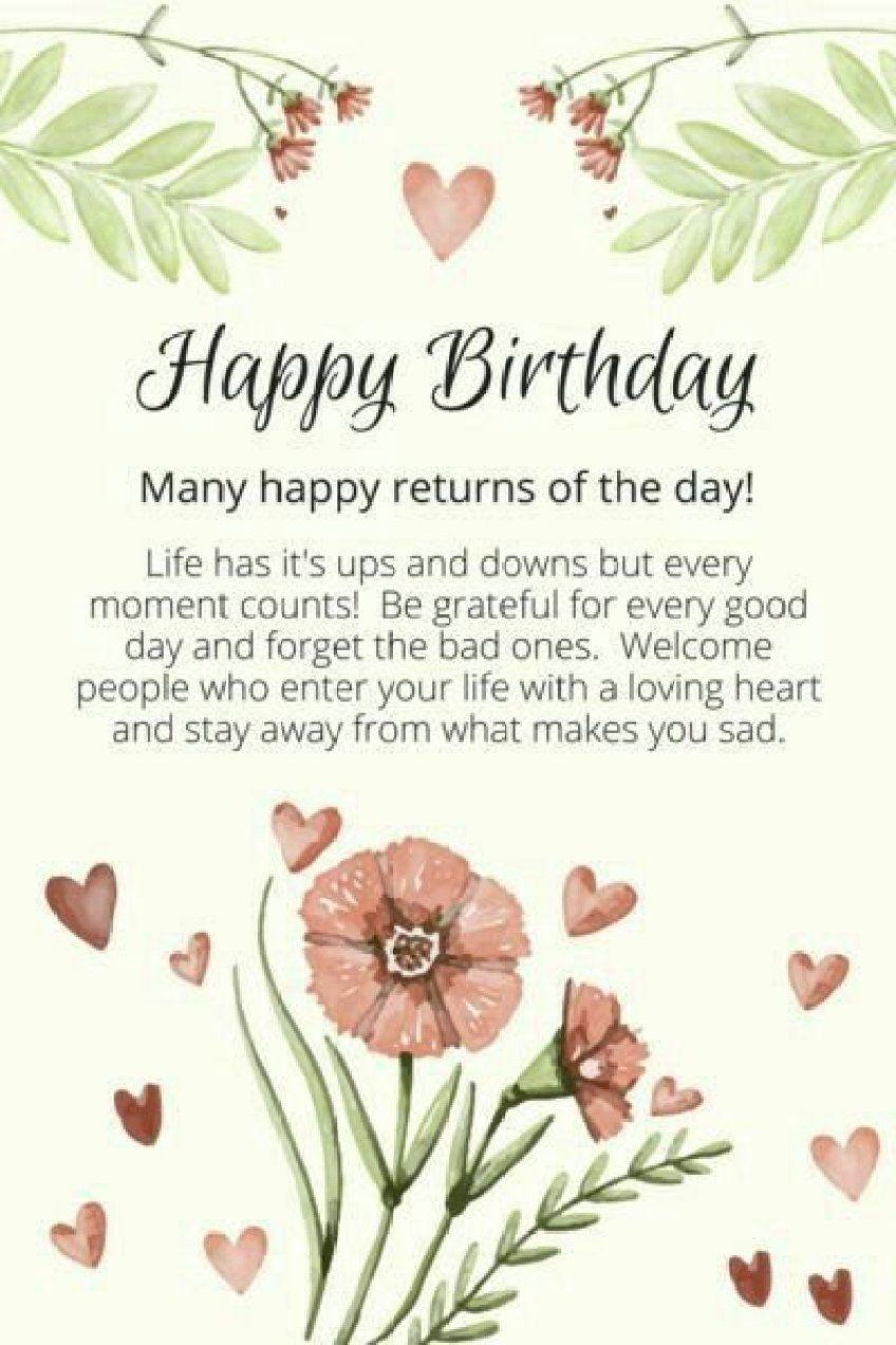 Birthday Spruch Geburtstag 25 Ideas Birthday Wishes For Her