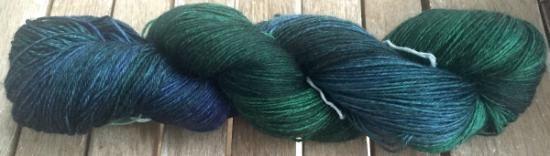 Hand Dyed - 100% Superwash Merino Wool