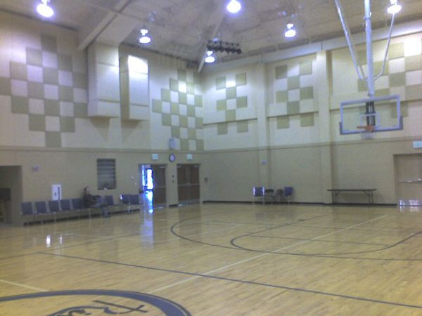 Acoustical Surfaces Inc Echoeliminator School Gym