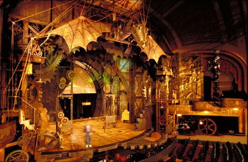 Wicked the Musical Stage Set Design | Photo Source: Pinterest