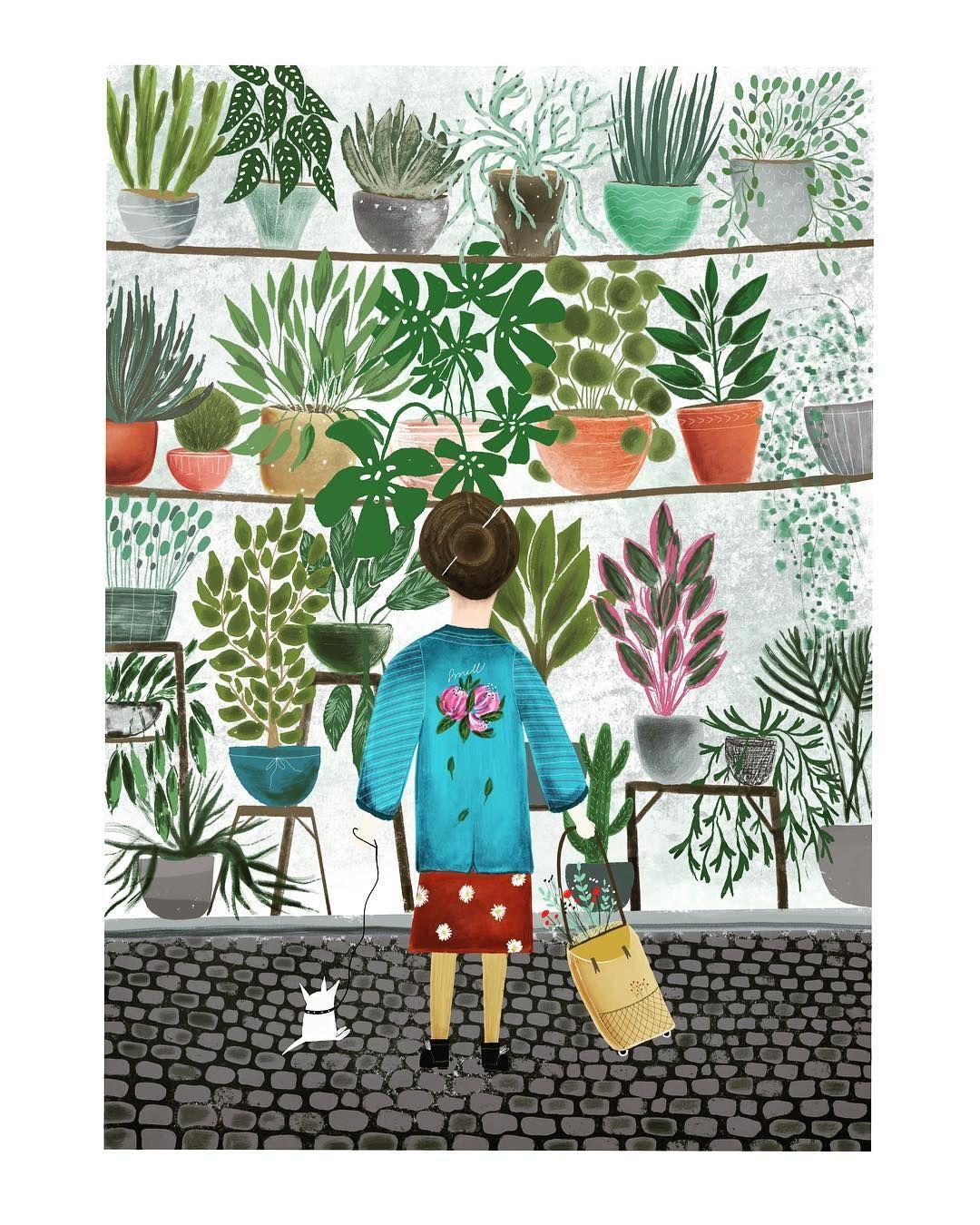 "Kristina Kemenikova -kbbf- on Instagram: ""Plant . Happy ... on"
