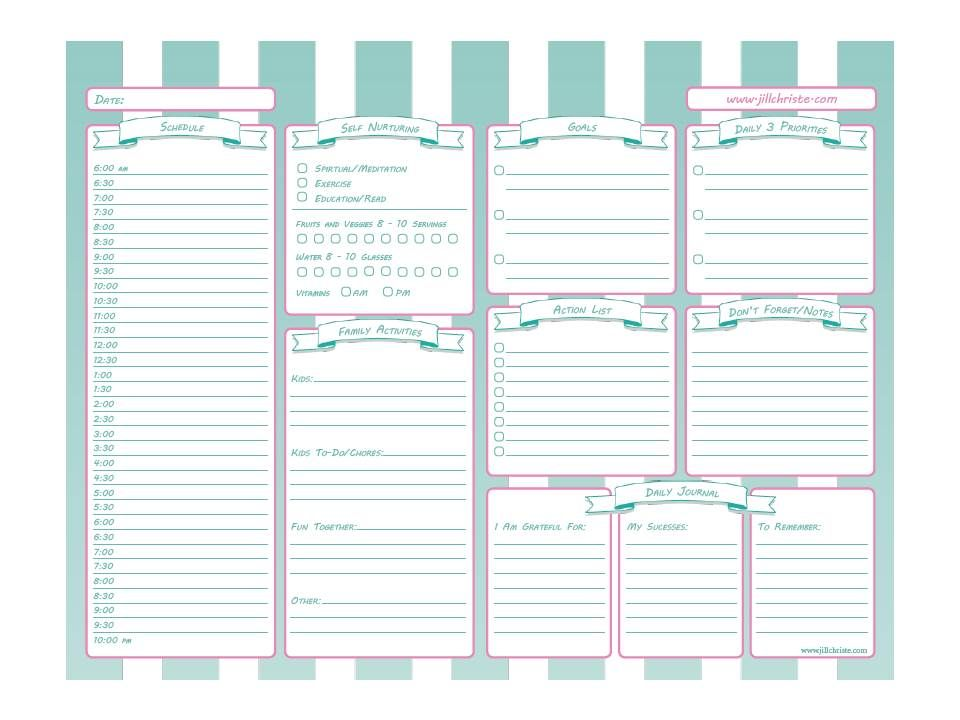 Printable Time Management System for Busy Moms! #timemanagement ...