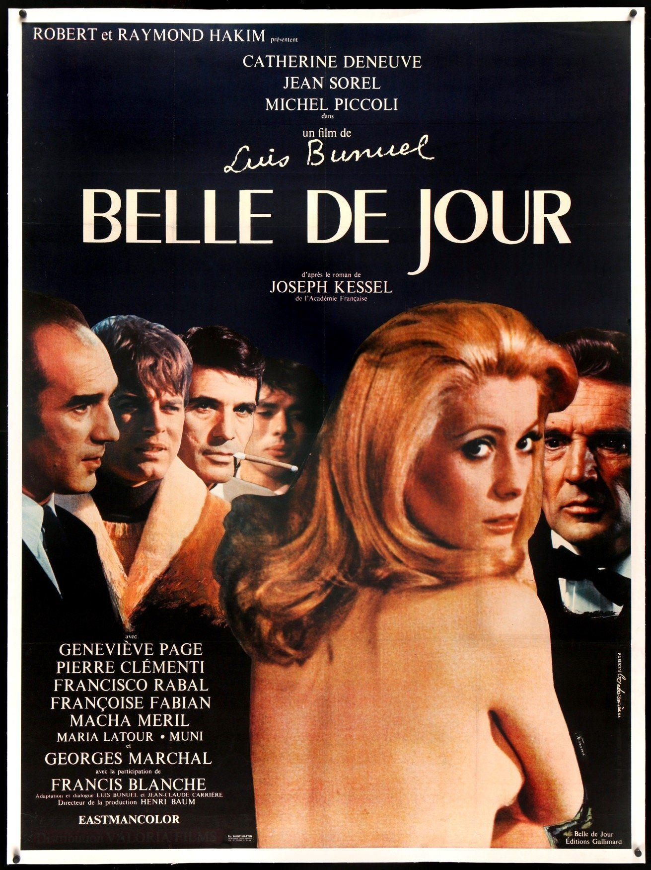 Belle De Jour 1967 French Movie Posters French Movies Film Posters Vintage