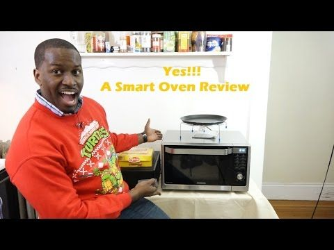 Samsung Convection Microwave Smart Oven Review Cooking Tips Youtube