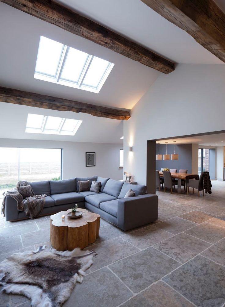 Fliesenboden Fliesenboden Moderne Wohnzimmergestaltung Wohnzimmer Grau Innenarchitektur Wohnzimmer