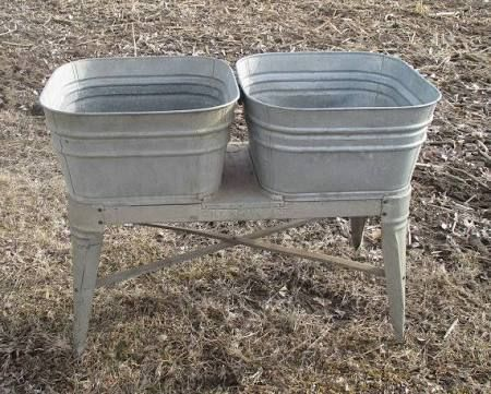 Galvanized Wash Tub Google Search Wash Tubs Galvanized Wash Tub Vintage Laundry