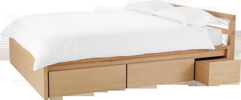 ADAMS estructura de cama de roble 140x200 cm - Habitat | Mefisto ...