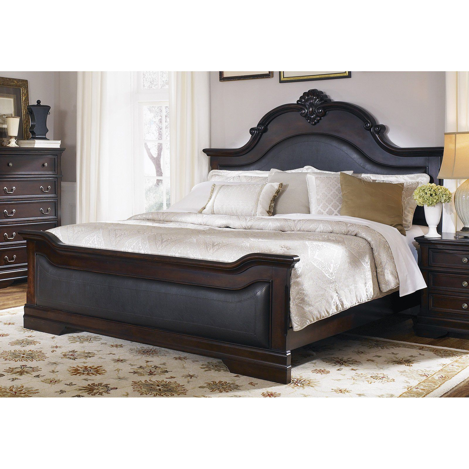 Coaster Furniture Cambridge Upholstered Bed Size King In 2020