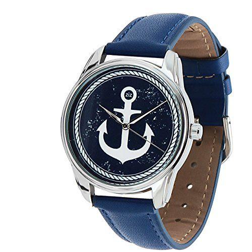 ZIZ Sea Watch (Blue Band) Unisex Wrist Watch, Quartz Analog Watch with Leather Band ZIZ http://www.amazon.com/dp/B00KB78892/ref=cm_sw_r_pi_dp_Bttfwb003EGA4