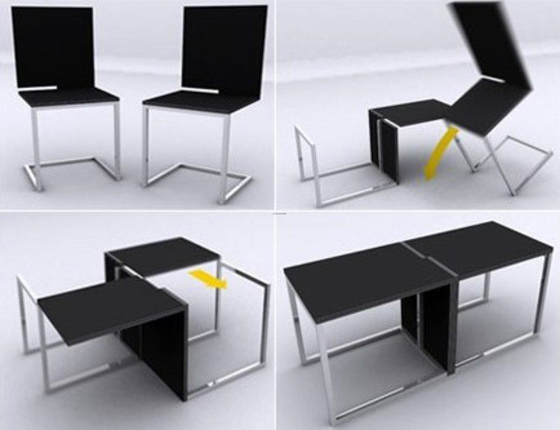 Space saving multi use office furniture obc design for Small den furniture layout