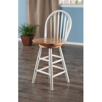 Strange Winsome Kitchen 24 Counter Stool Hardwood White In 2019 Pabps2019 Chair Design Images Pabps2019Com