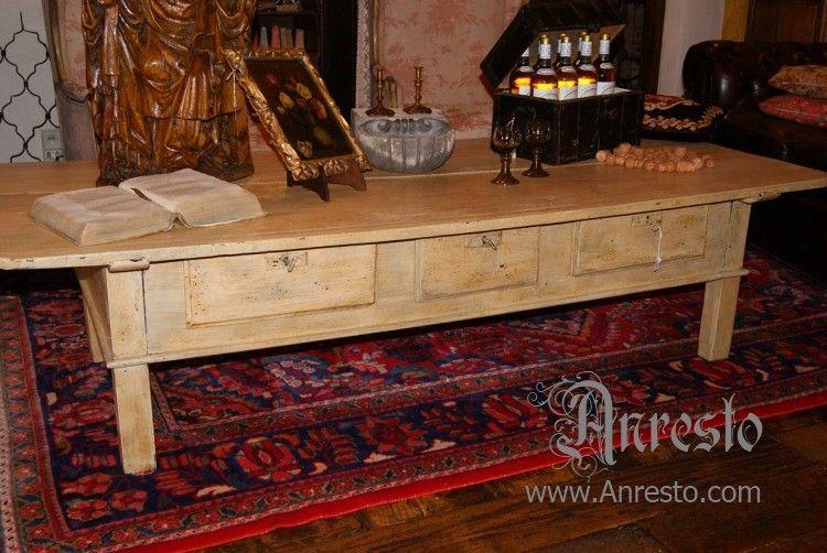 Antieke Spaanse Tafel : Antieke spaanse tafel betaaltafel 18de eeuws spaanse betaaltafel