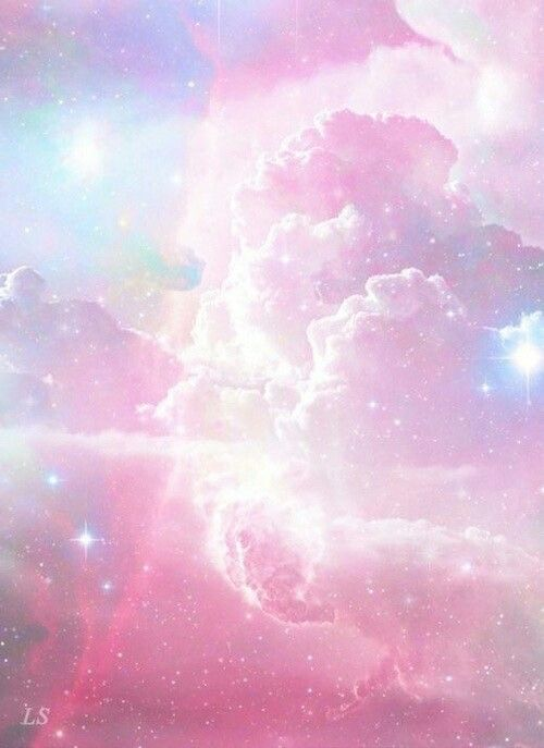 Kind Of Cloudy Galaxy Pink Wallpaper