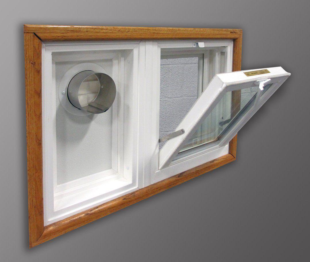 Dryer Vent And Hopper Window Combination 32 Quot W X 24 Quot H