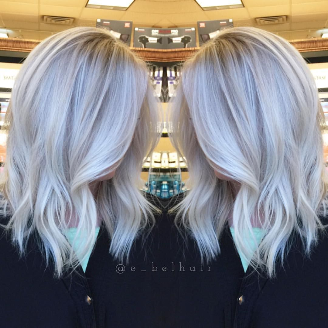 Cool Blonde Highlights Icy Blonde Balayage See This Instagram