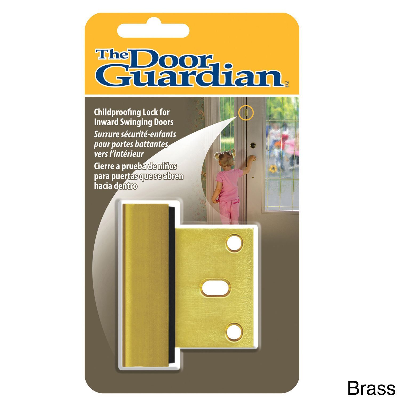 The Door Guardian Effectively Childproofs Your Exterior Doors