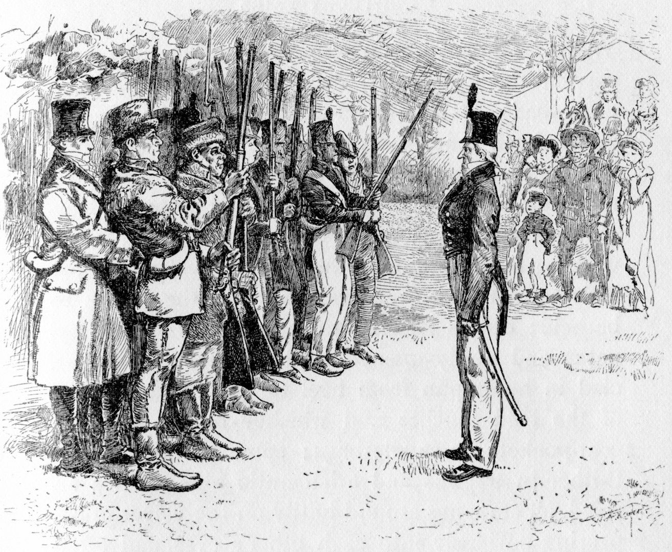 James Lane Allen Pictures The Militia