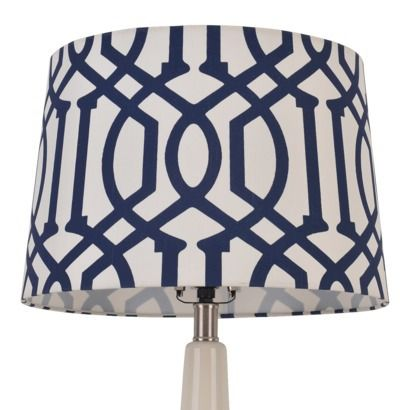 Lamp Shades At Target Threshold Trellis Print Lamp Shadei Think This Was One That The Gf