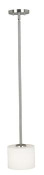 Kenroy Home Matrielle 1 Light Mini Pendant Brushed Steel Finish | eBay  63 & free ship