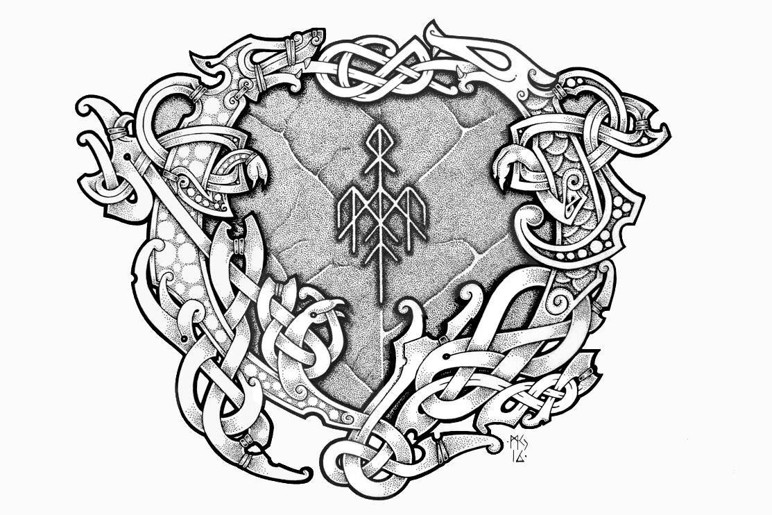 Pin By Eugene Konstantinov On Nord Vikings Viking Tattoos