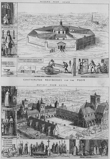 Medieval vs. Victorian Workhouse, Building, Medieval