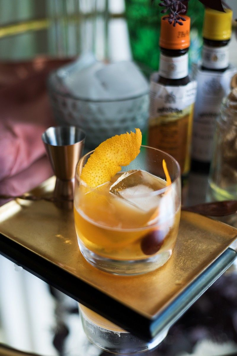 Classic Old Fashioned Cocktail Recipe Classic Old Fashioned