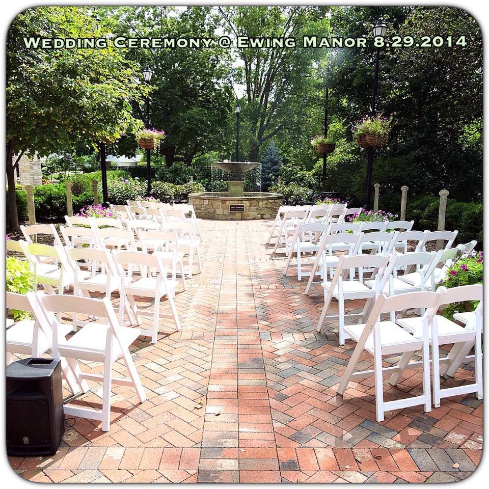 Patio Furniture Bloomington Illinois: Wedding Reception At Ewing Manor Chairs Provided By Palace