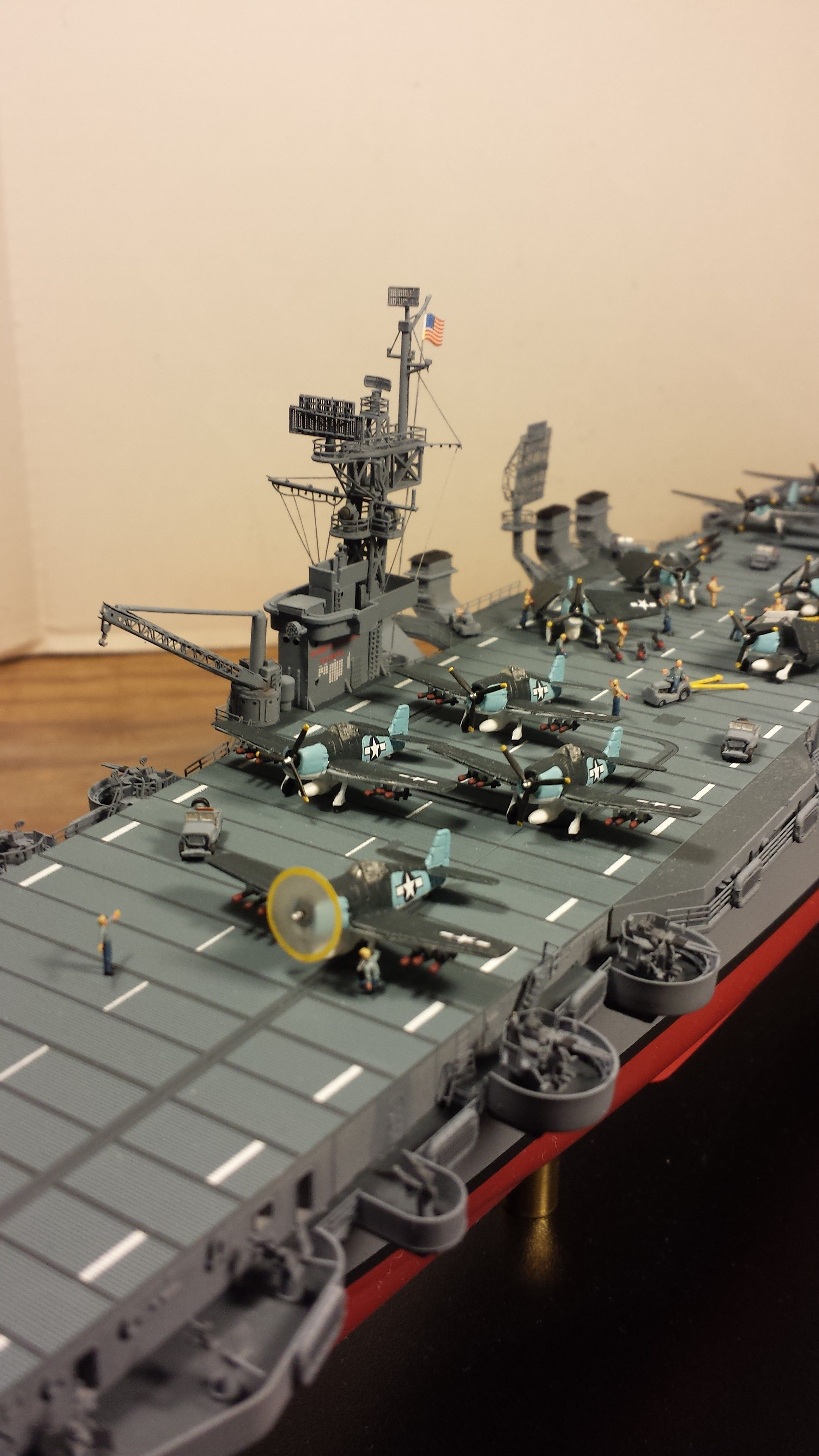 Aircraft carrier models large scale - Dragon Uss Princeton Cvl23 Scale 1 350 By Dennis Laplante Aircraft Carrierscaledragon