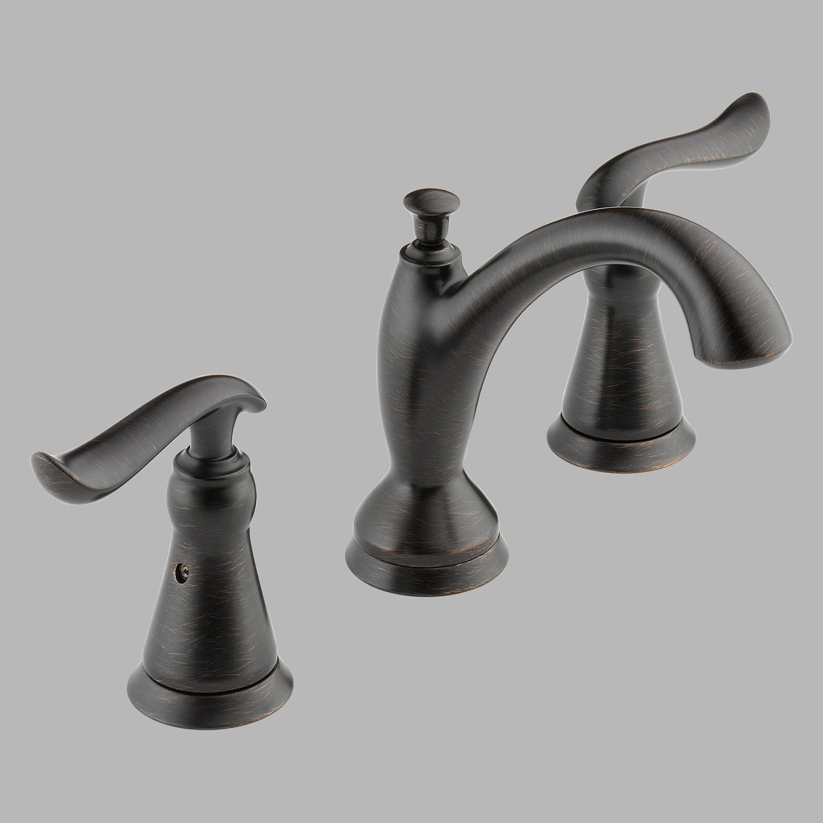 Delta Linden 3594lf Double Handle Widespread Bathroom Sink Faucet