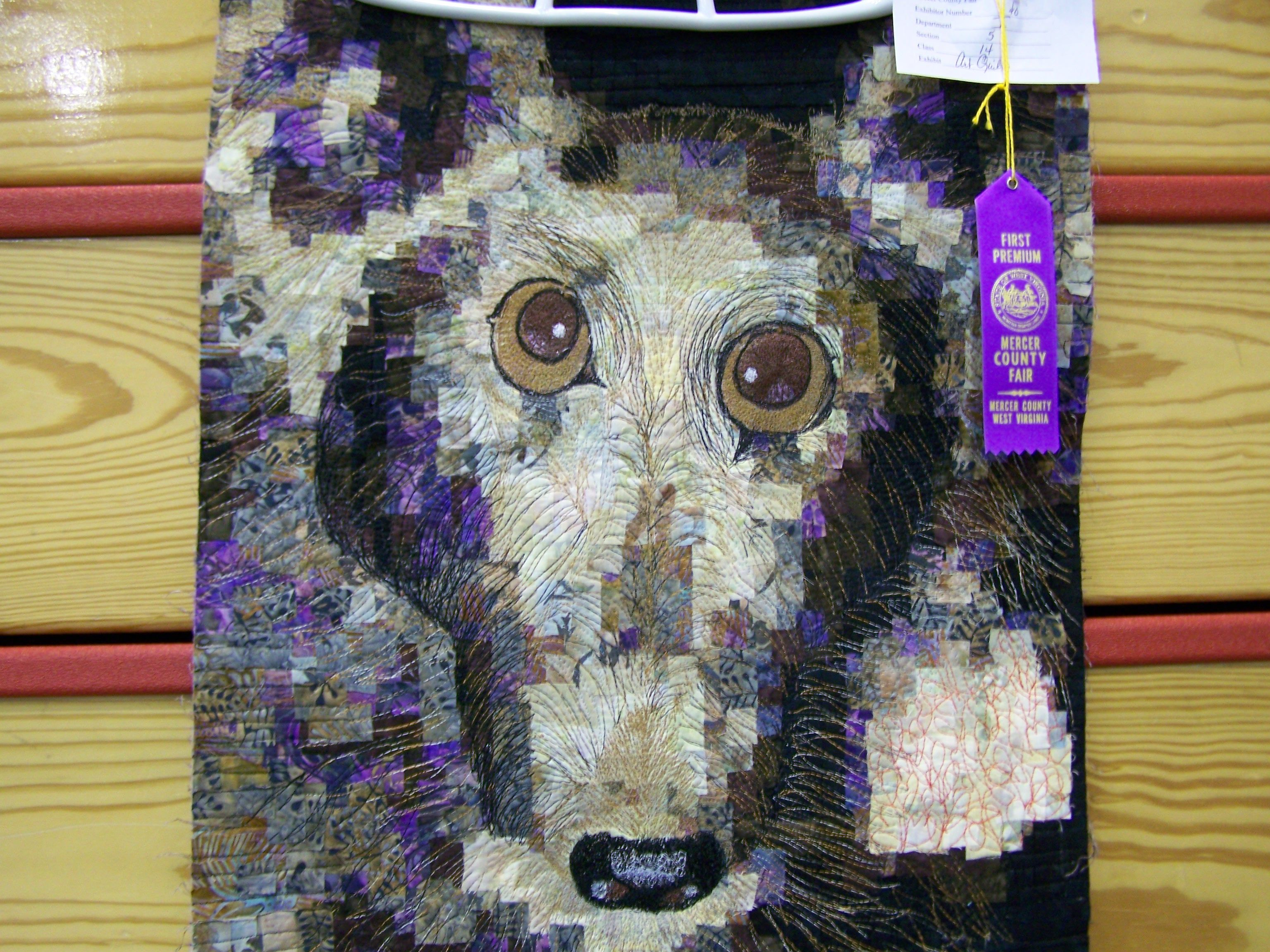 """Essene of Peppermint"" takes a first place at the Mercer County Fair."