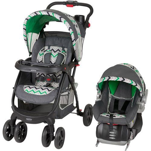 Baby Trend Encore Lite Travel System, Stone Green ...