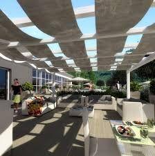 Risultati immagini per progettazione verde ristorante