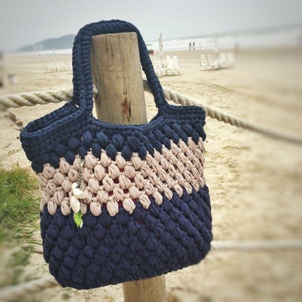 f2e6cf3c4 18 Ideias para Você Fazer Bolsas de Crochê   hand made   Crochet ...