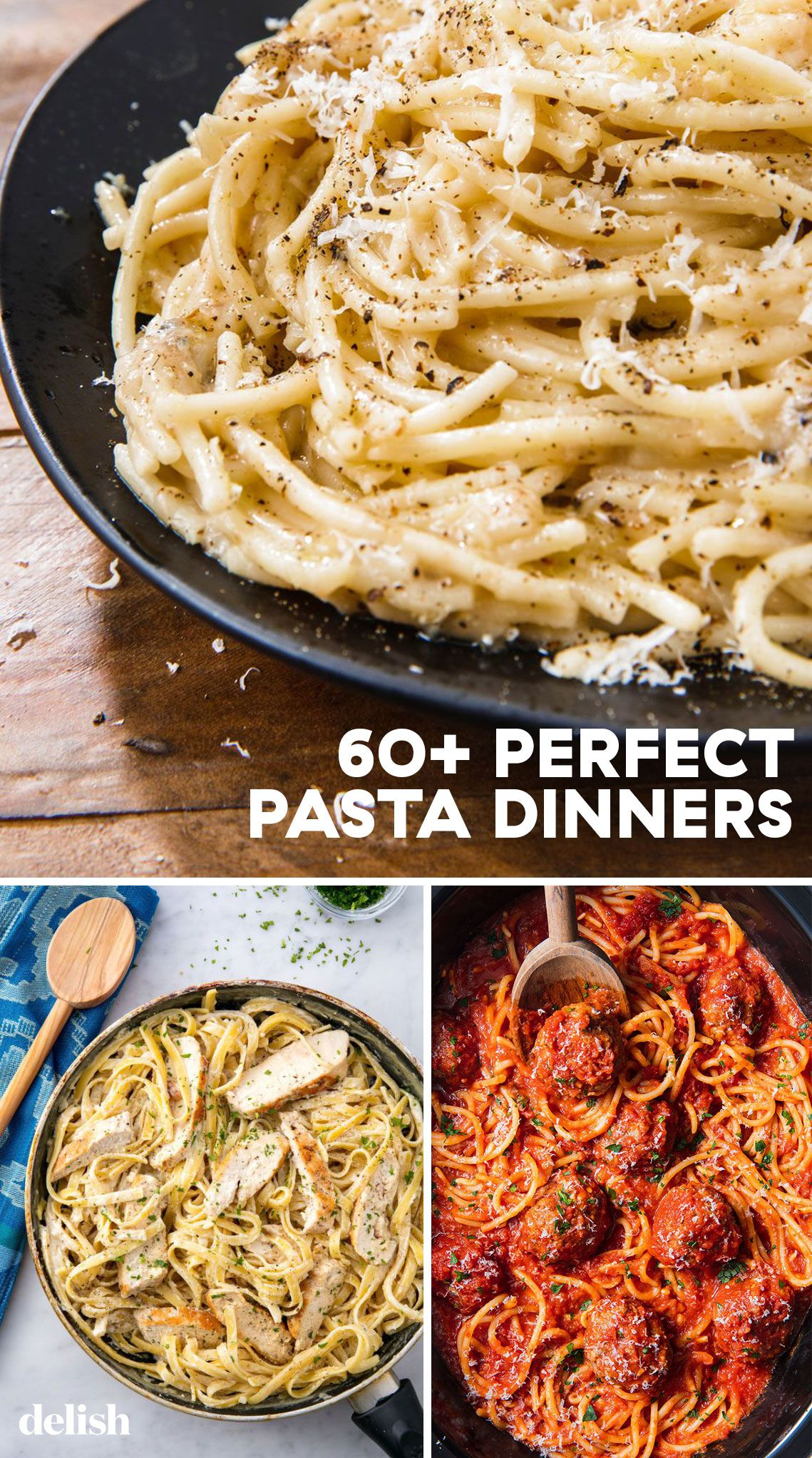 60+ Perfect Pasta Dinner Recipes images