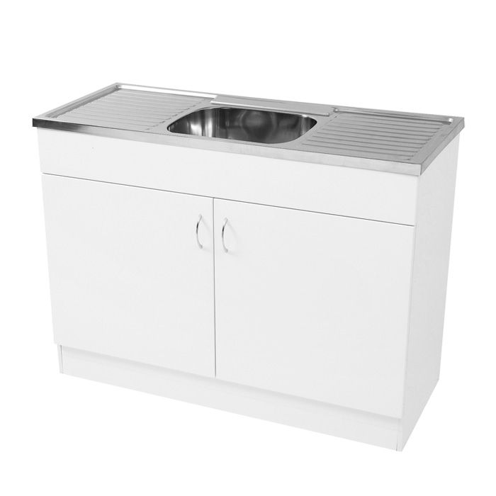 Kitchen Cabinets Sink: Commercial - Sink & Cabinet 1200mm