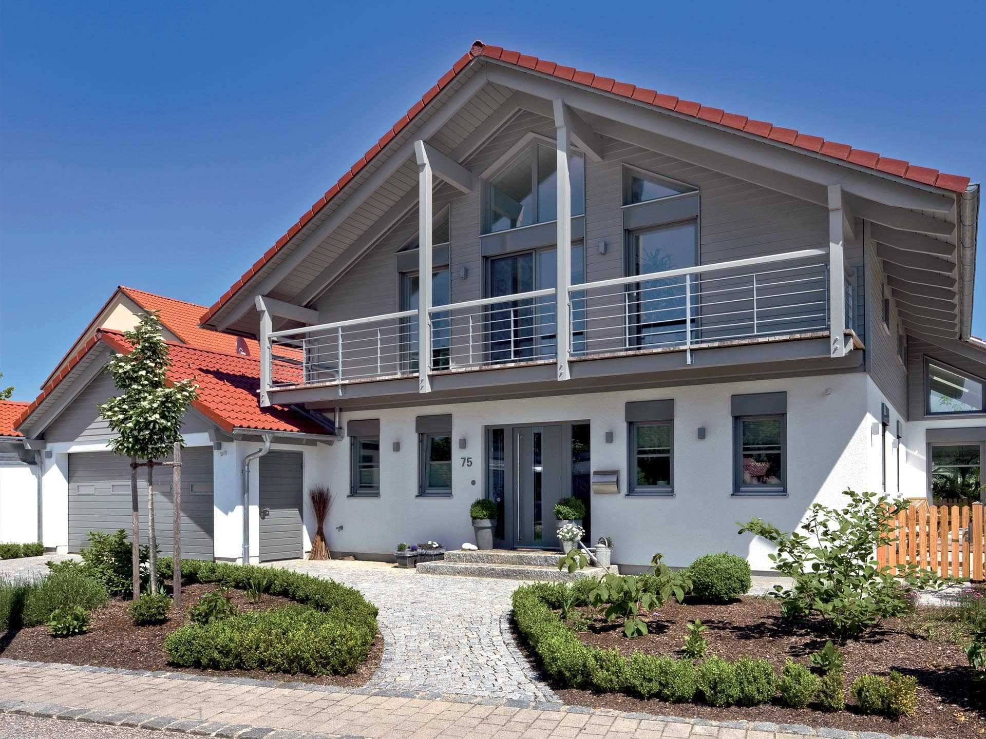 Einfamilienhaus Landshut - Regnauer Hausbau in 2020 | Haus ...