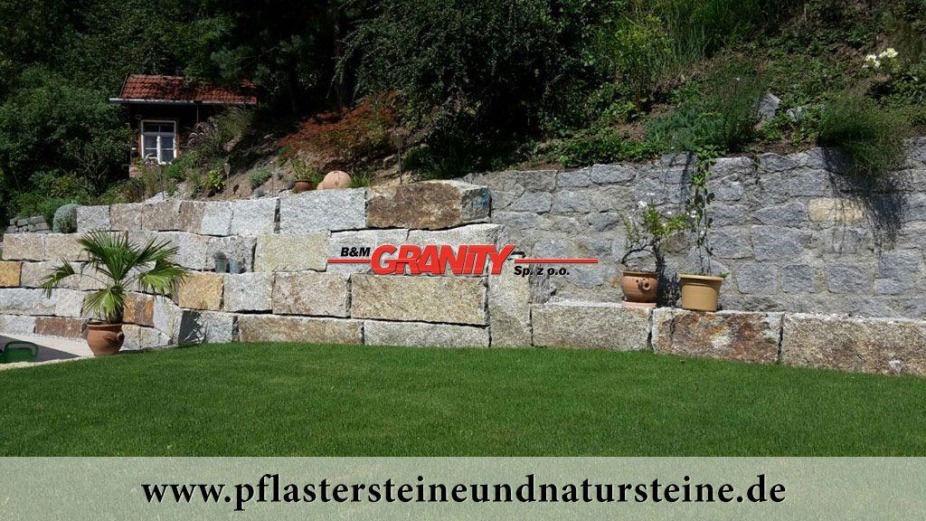 B M Granity Naturstein Aus Polen Granit Sandstein Gneis Schiefer Lieferung Inkl Transport Granit Mauersteine Mauerstein Natursteine
