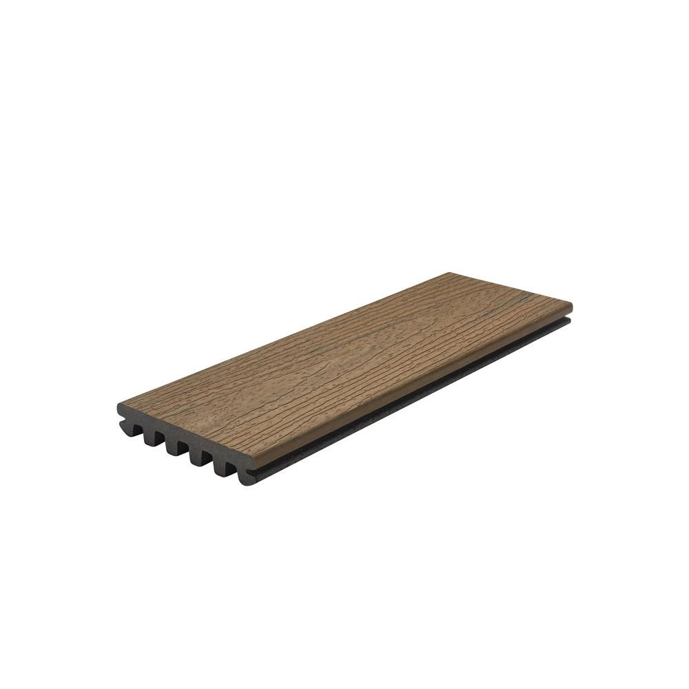 Trex Enhance 1 In X 5 5 In X 1 Ft Toasted Sand Composite