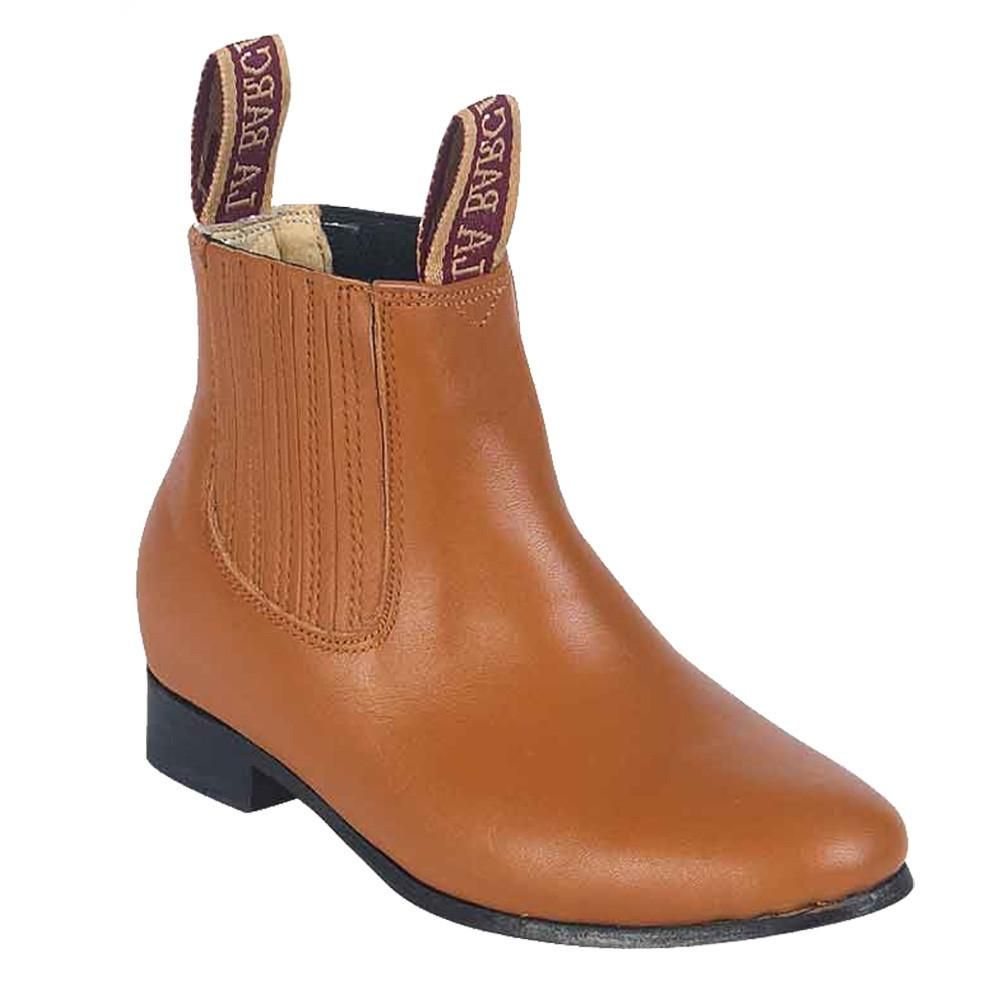 Charro Ankle Boots El Canelo For Women Leather Nobuck Botin Charro para Dama